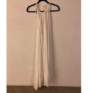 Xirena White gauze beach dress new with tags